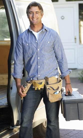 ac repairman van toolbox