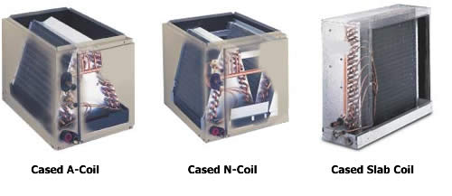 types of evaporator coils